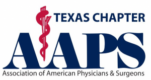 Logo for Association of American Physicians & Surgeons (Texas Chapter)