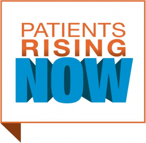 Logo for Patients Rising Now