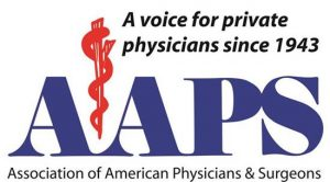 Logo for Association of American Physicians and Surgeons