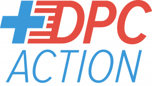 Logo for DPC Action