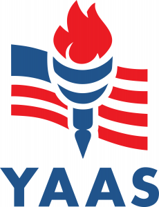 Logo for Young Americans Against Socialism